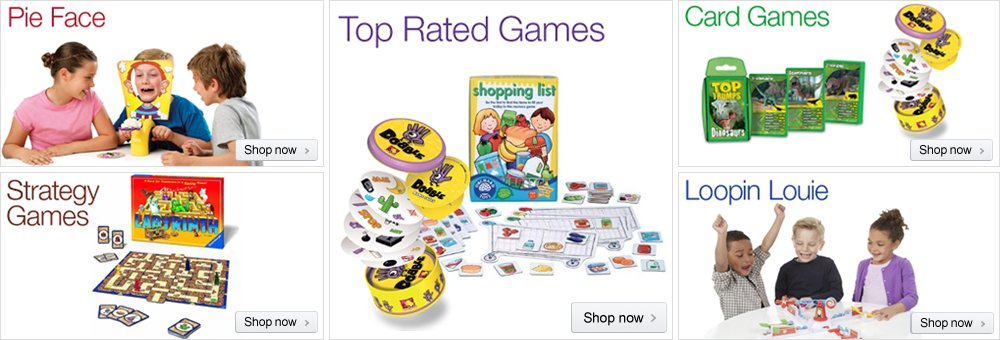 Games Store at Amazon.co.uk