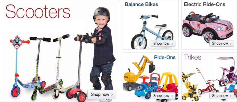 Bikes, Trikes, Ride-Ons at Amazon.co.uk