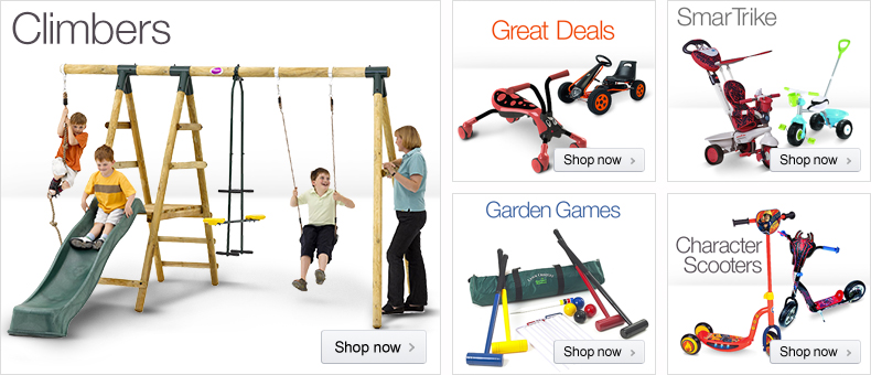 Outdoor Toys at Amazon.co.uk
