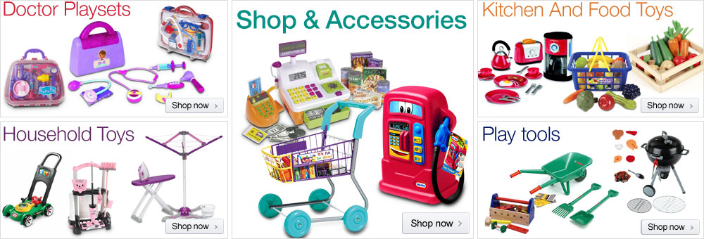 Pretend Play at Amazon.co.uk