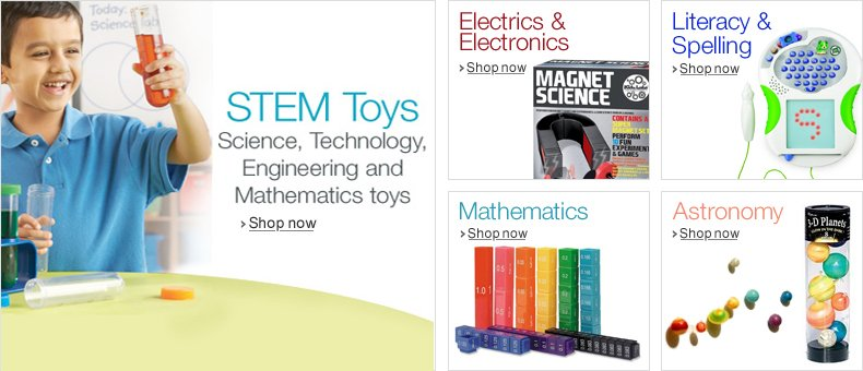 Discover STEM Toys at Amazon.co.uk