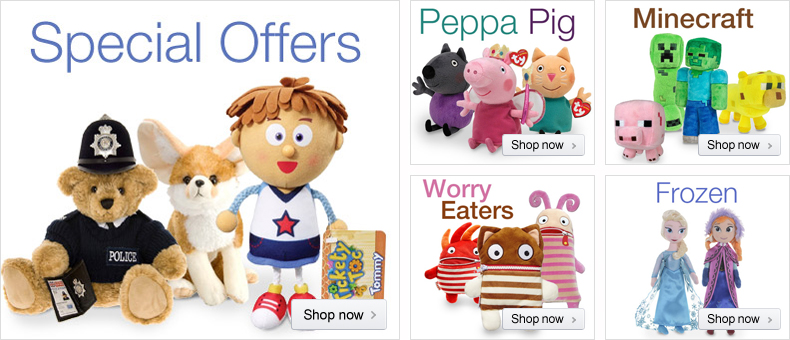 Soft Toys at Low Prices