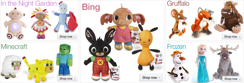 Soft Toys at Amazon.co.uk