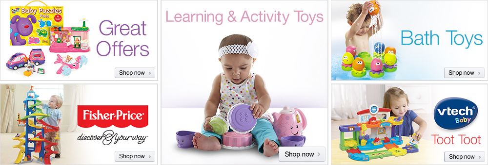 Baby & Toddler Toys Store at Amazon.co.uk