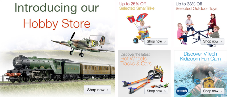 Hobby Store at Amazon.co.uk