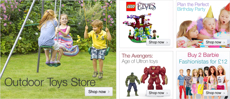 Outdoor Toys store at Amazon.co.uk