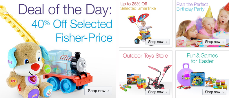 Fisher-Price Easter Gift Ideas