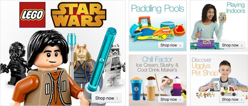 LEGO Star Wars at Amazon.co.uk