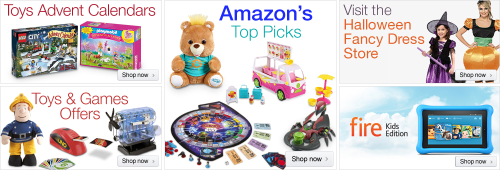 Toys and Games Store at Amazon.co.uk
