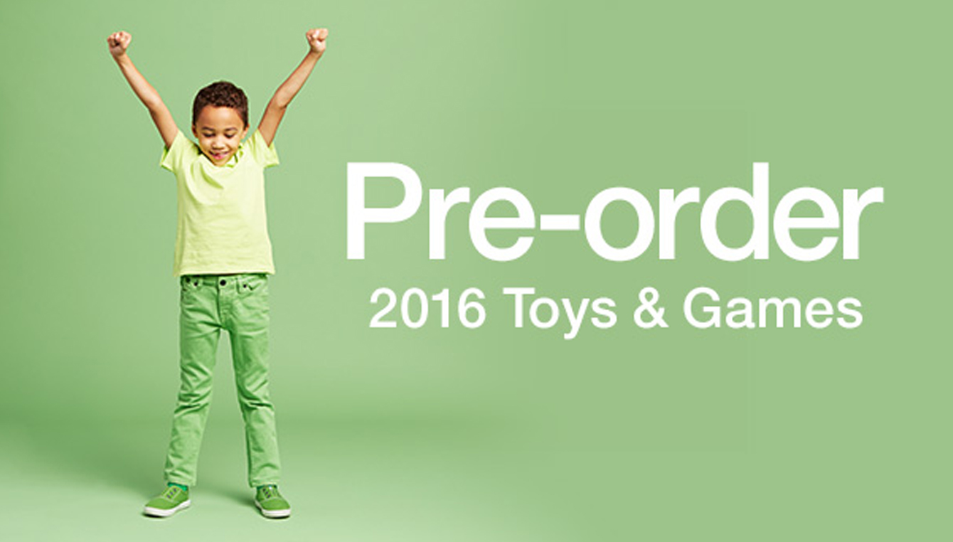 Pre-Order 2016 Toys & Games