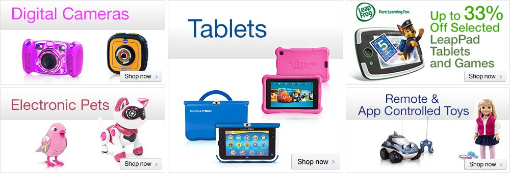 Electronic Toys Store at Amazon.co.uk