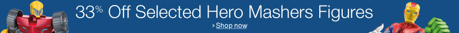 33% Off Selected Hero Mashers
