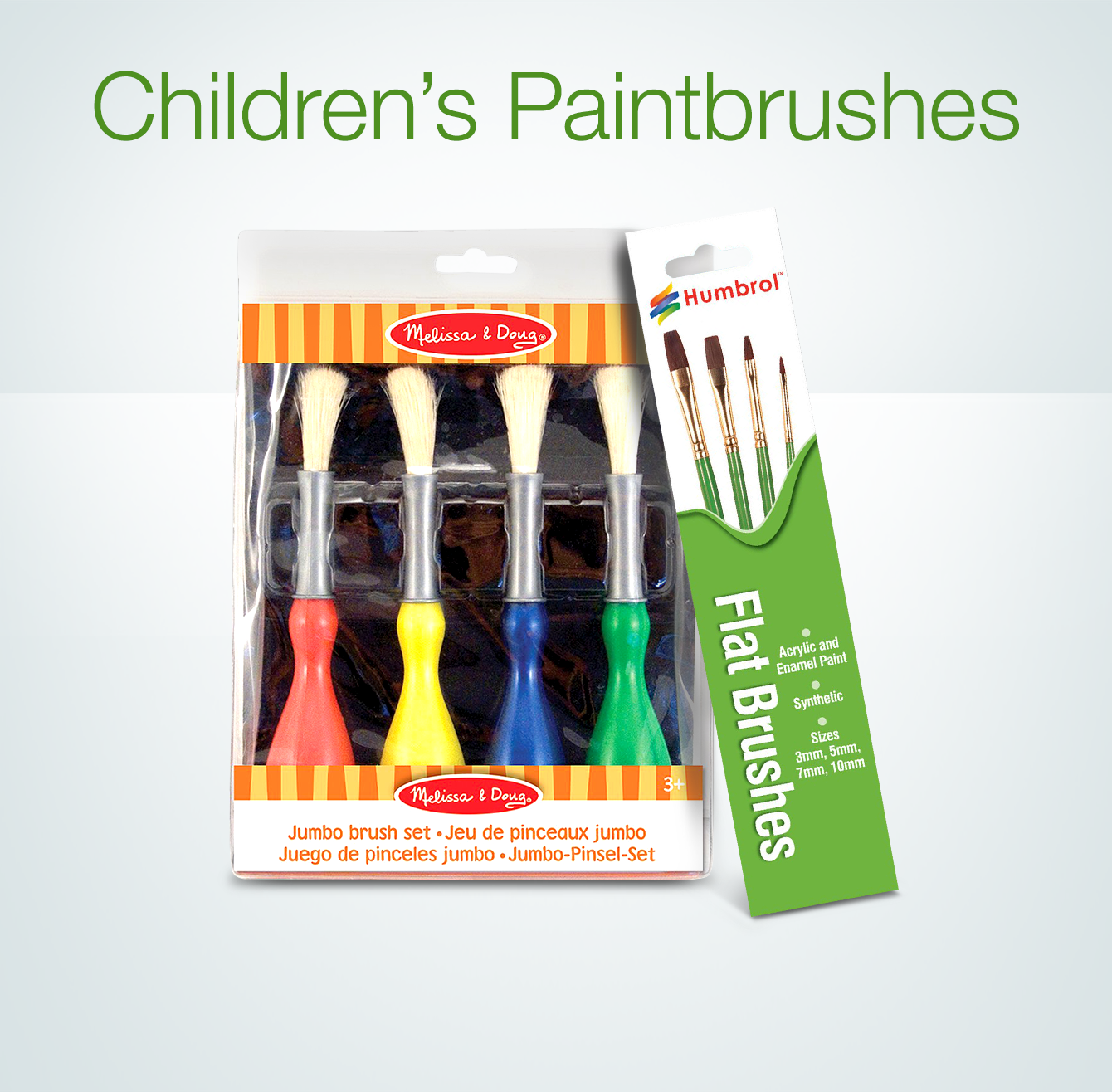 Children's Paintbrushes