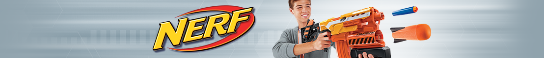 NERF Store header stripe