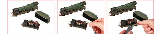 Basic Installation of a Locomotive Decoder