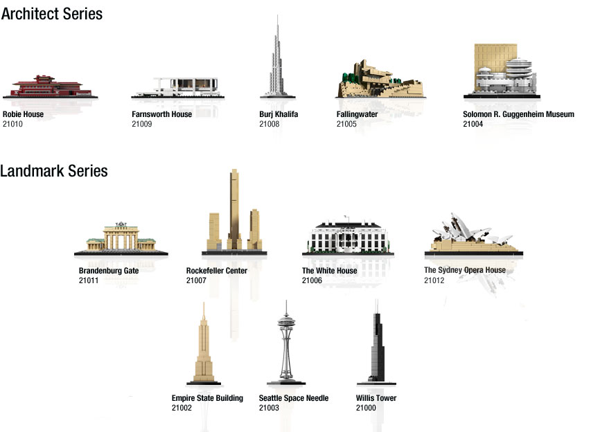 Shop the LEGO Architecture Collection