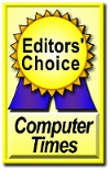 Computer Times Editor's Choice Award