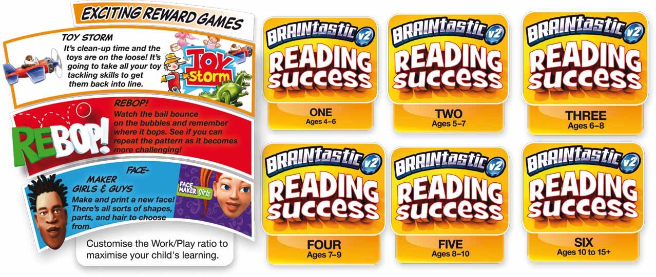 BRAINtastic Reading Success Value Bundle Overview