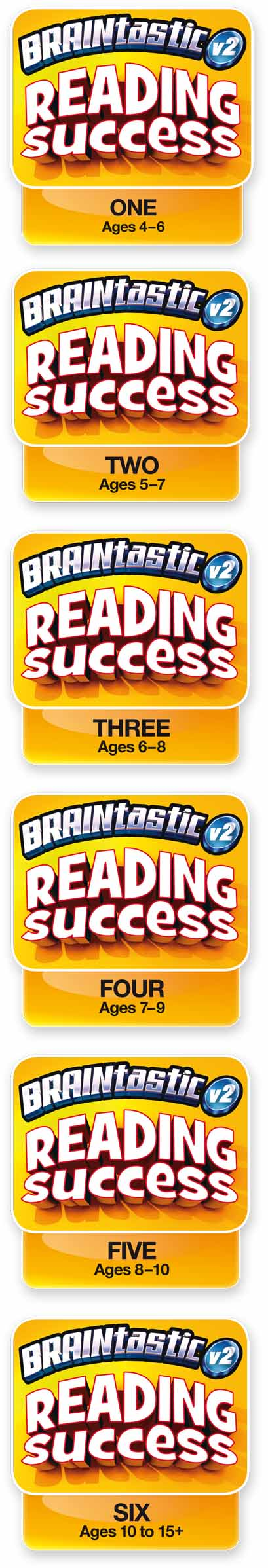 Titles Included with the BRAINtastic Reading Success Value Bundle