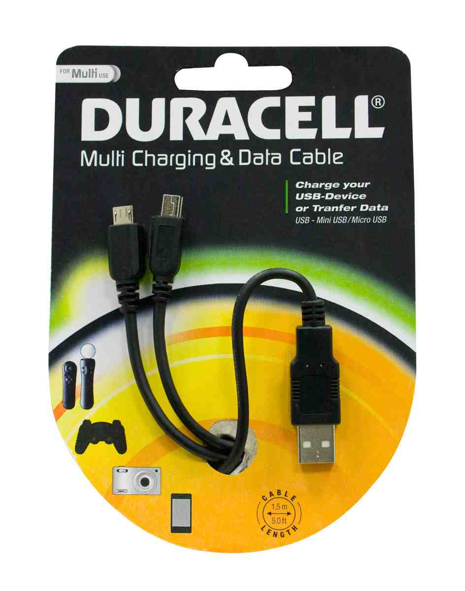 Duracell Universal Multi Charging Cable: Amazon.co.uk: PC