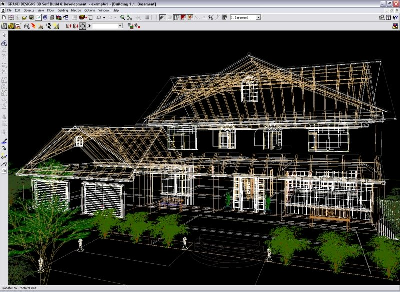 Grand designs 3d v2 self build development Building drawing software