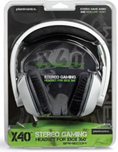 X40 Stereo Gaming Headset for Xbox 360