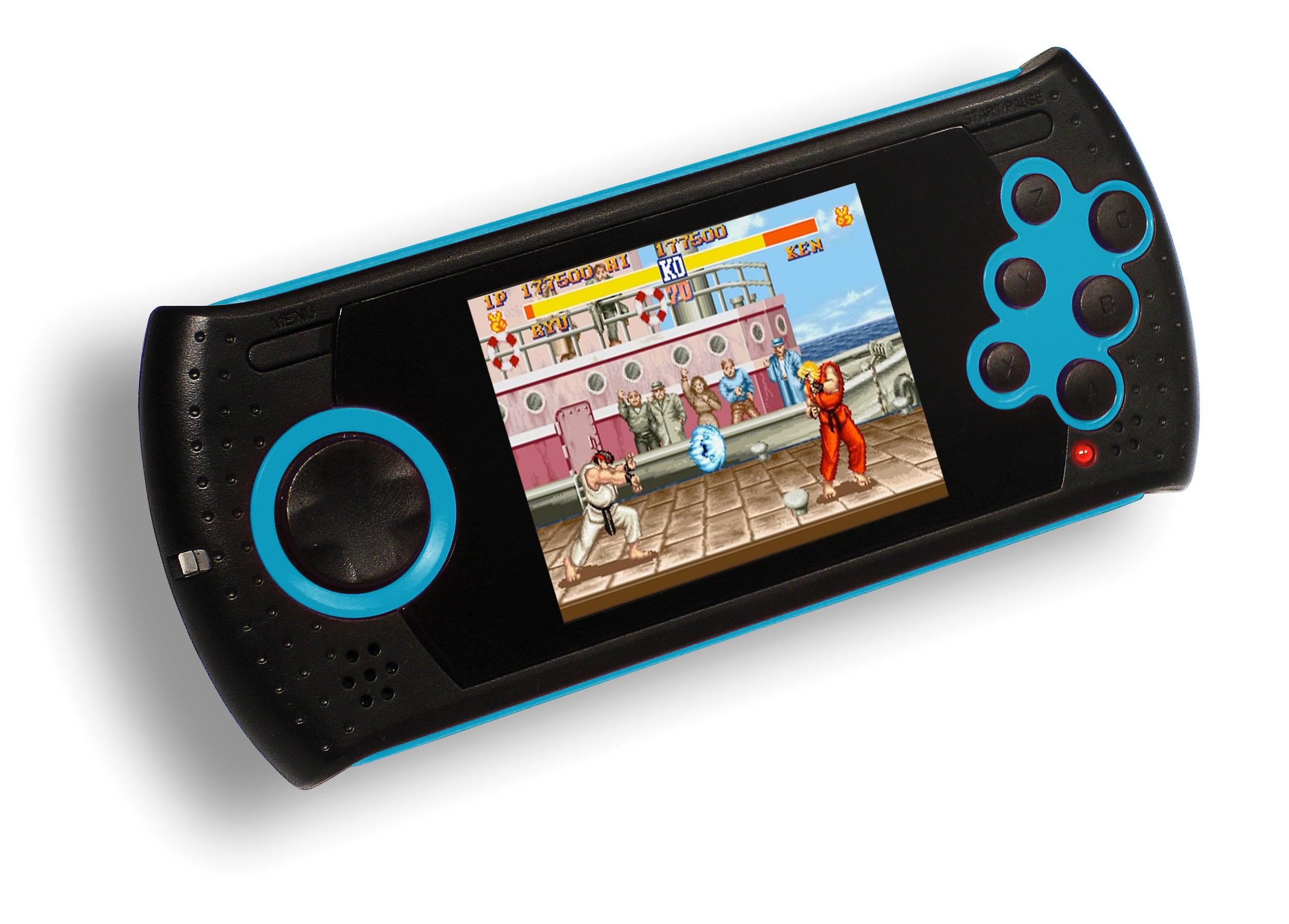 Portable Exhibition Game : Sega megadrive ultimate handheld super street fighter