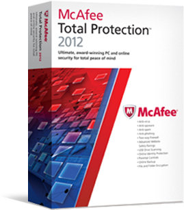 McAfee Total Protection 2012 – digitale Sicherheit