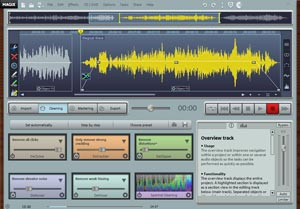 MAGIX Audio Cleaning Lab MX Interface