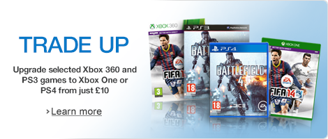 Trade up to next generation games from as little as �10