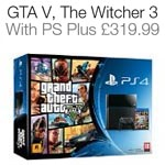 PS4 Plus GTA V, The Witcher 3 and PSN