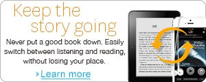 Never put a good book now. Try Whispersync for Voice