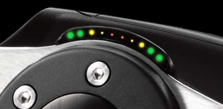 RPM/shift indicator LEDs
