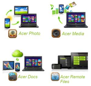 Acer Aspire E series Laptop. Seamless communication