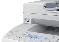 AcuLaser CX29NF laser printer back