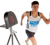 Find how fast you cross the finishing line