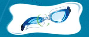 Speedo Biofuse goggle technology