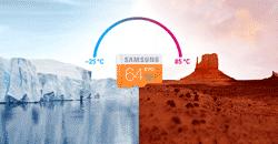 Samsung EVO MicroSDHC Memory Card