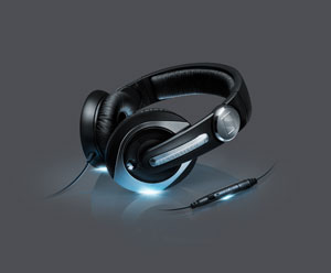 Sennheiser HD 335s Universal 'Over-The-Ear' Wired Headset for Smartphones