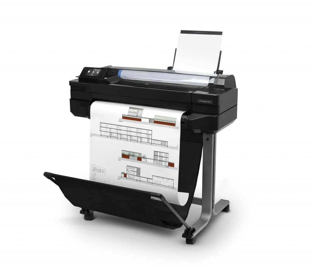 Hp Designjet T520 24 Inch Large Format Colour Inkjet