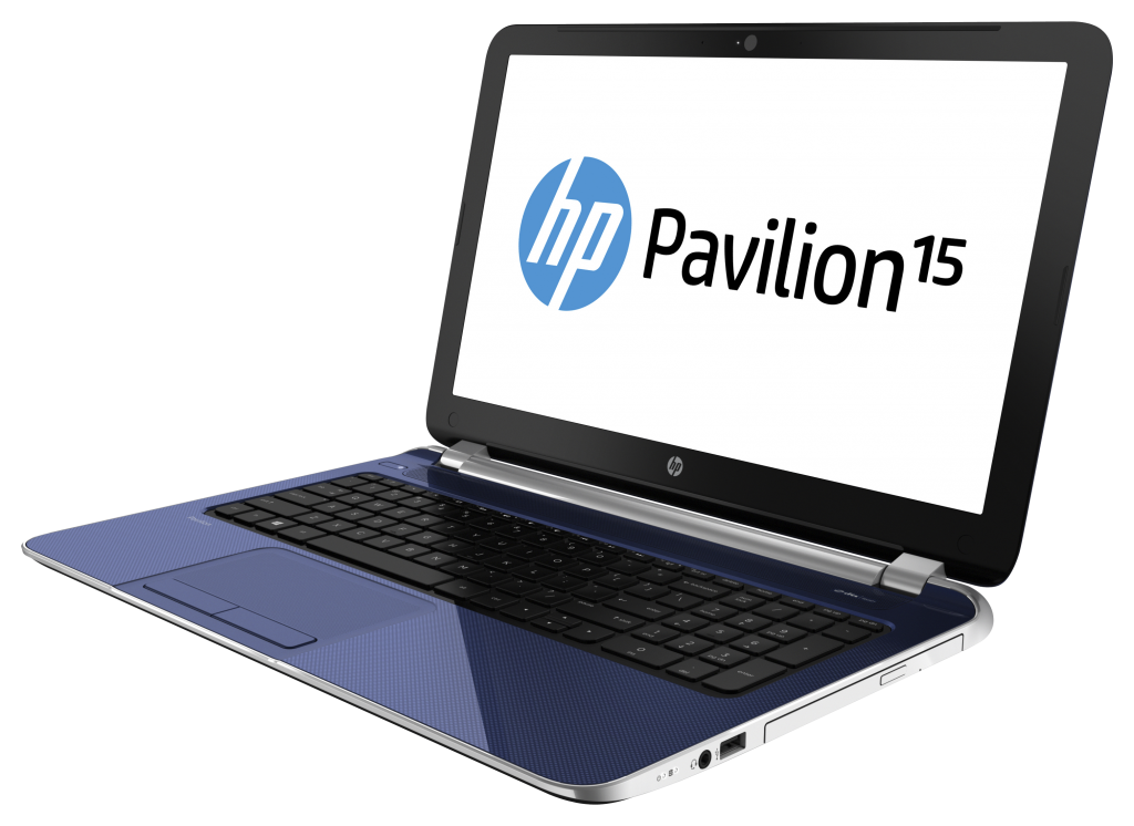 hp 15 6 inch pavilion notebook pc revolutionary blue. Black Bedroom Furniture Sets. Home Design Ideas
