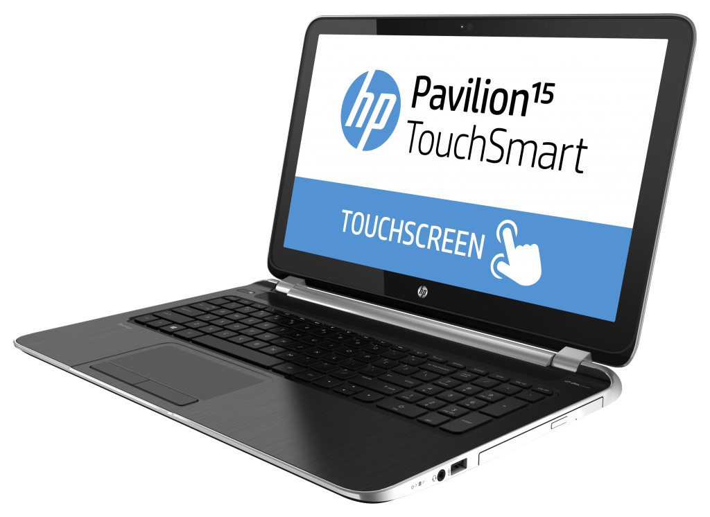 hp 15 6 inch pavilion touchsmart notebook pc midnight. Black Bedroom Furniture Sets. Home Design Ideas