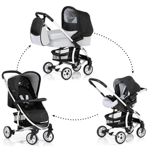 hauck Malibu All-in-One Travel System