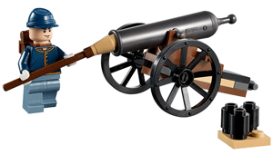 Cannon with wheels