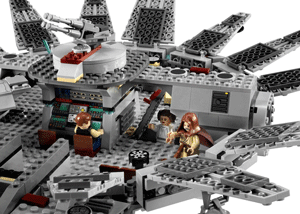 LEGO Star Wars Millennium Falcon interior