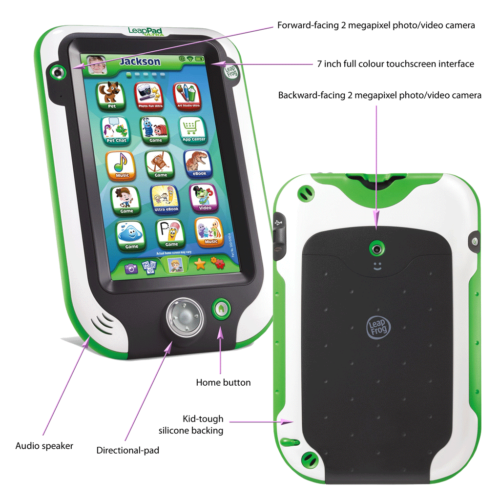 LeapPad Ultra features