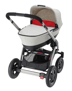 Compatible with Maxi-Cosi Loola, Elea and Mura Plus pushchairs