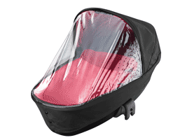 All-over raincover and mosquito net are included