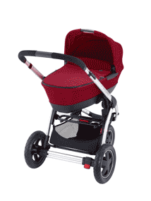 Form a pram with colour matching Maxi-Cosi Foldable Carrycot
