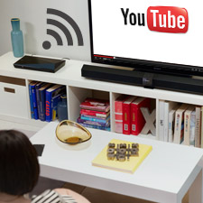 Wi‐Fi ready to stream entertainment on‐demand